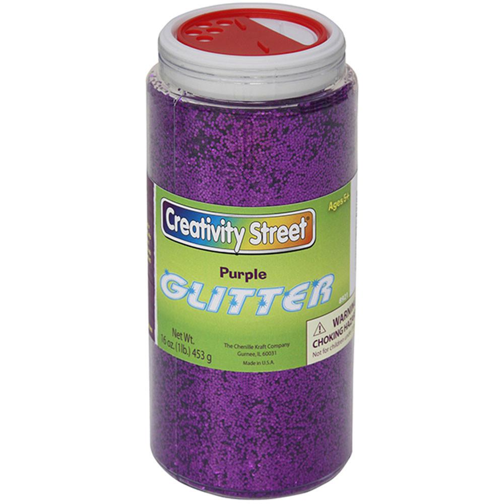 CK-8921 - Glitter 1 Lb. Purple in Glitter