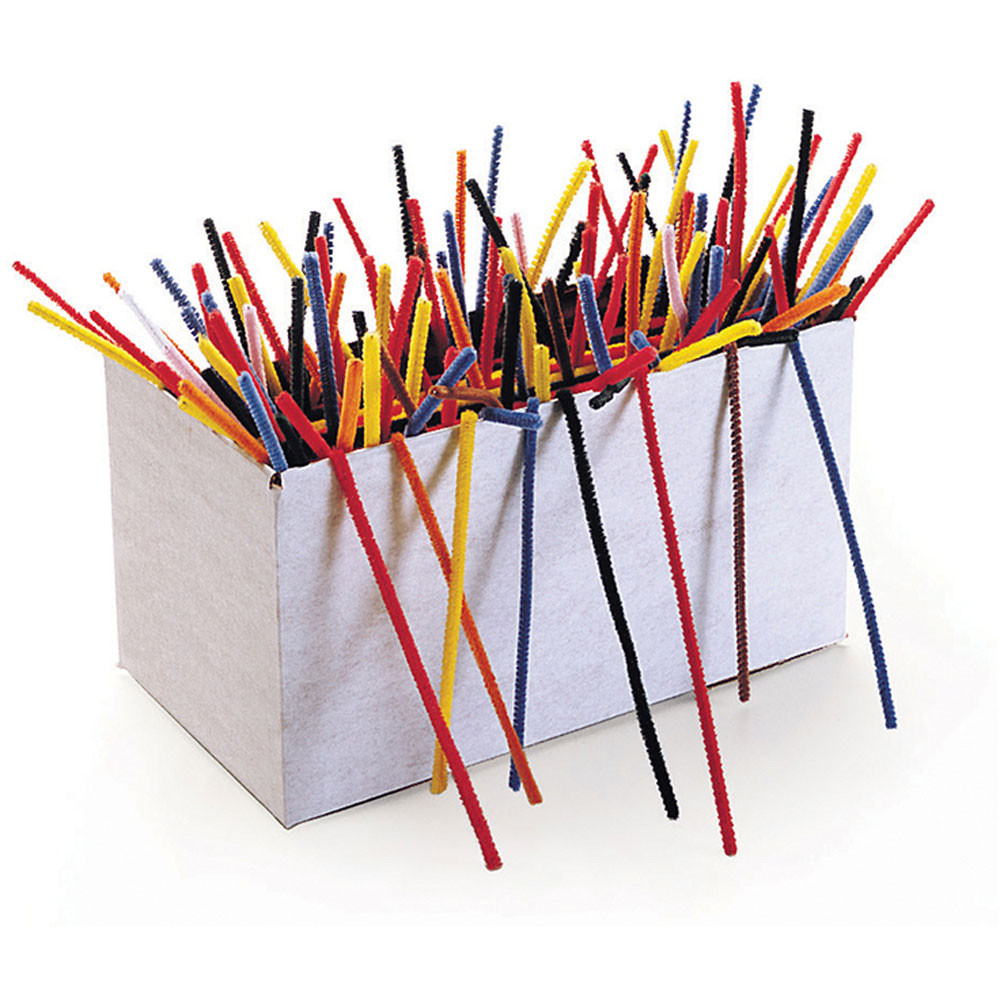 CK-911201 - Chenille Stems Pack Of 1000 in Chenille Stems
