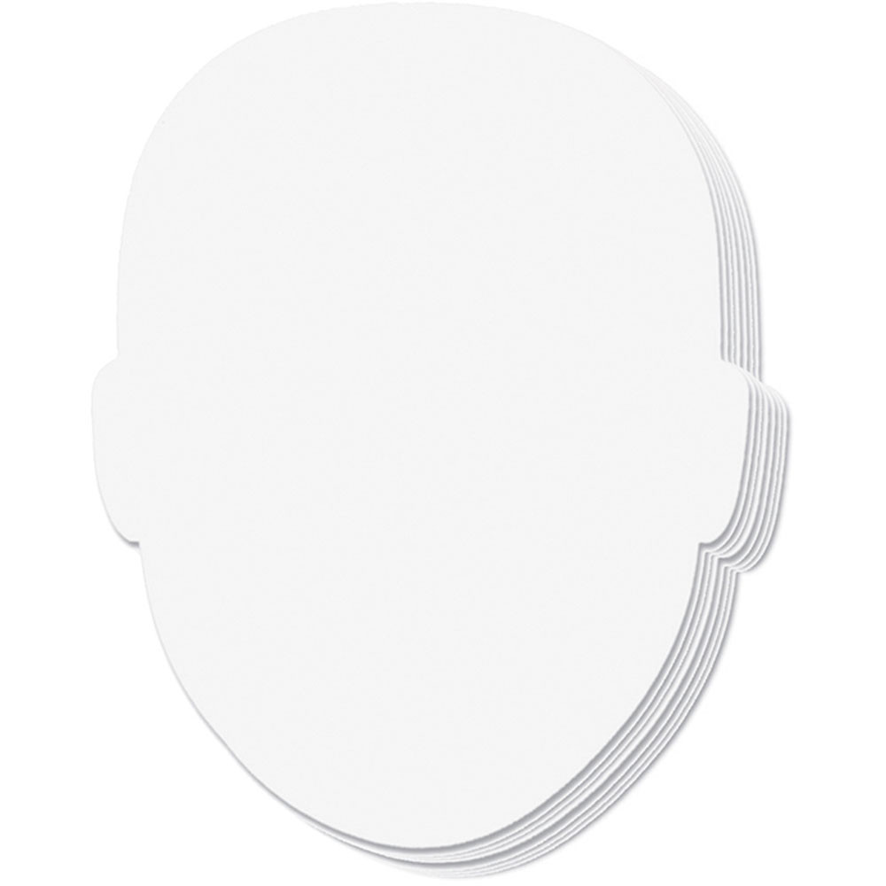 CK-987410 - Whiteboard Face Shapes 10/Set in Dry Erase Boards