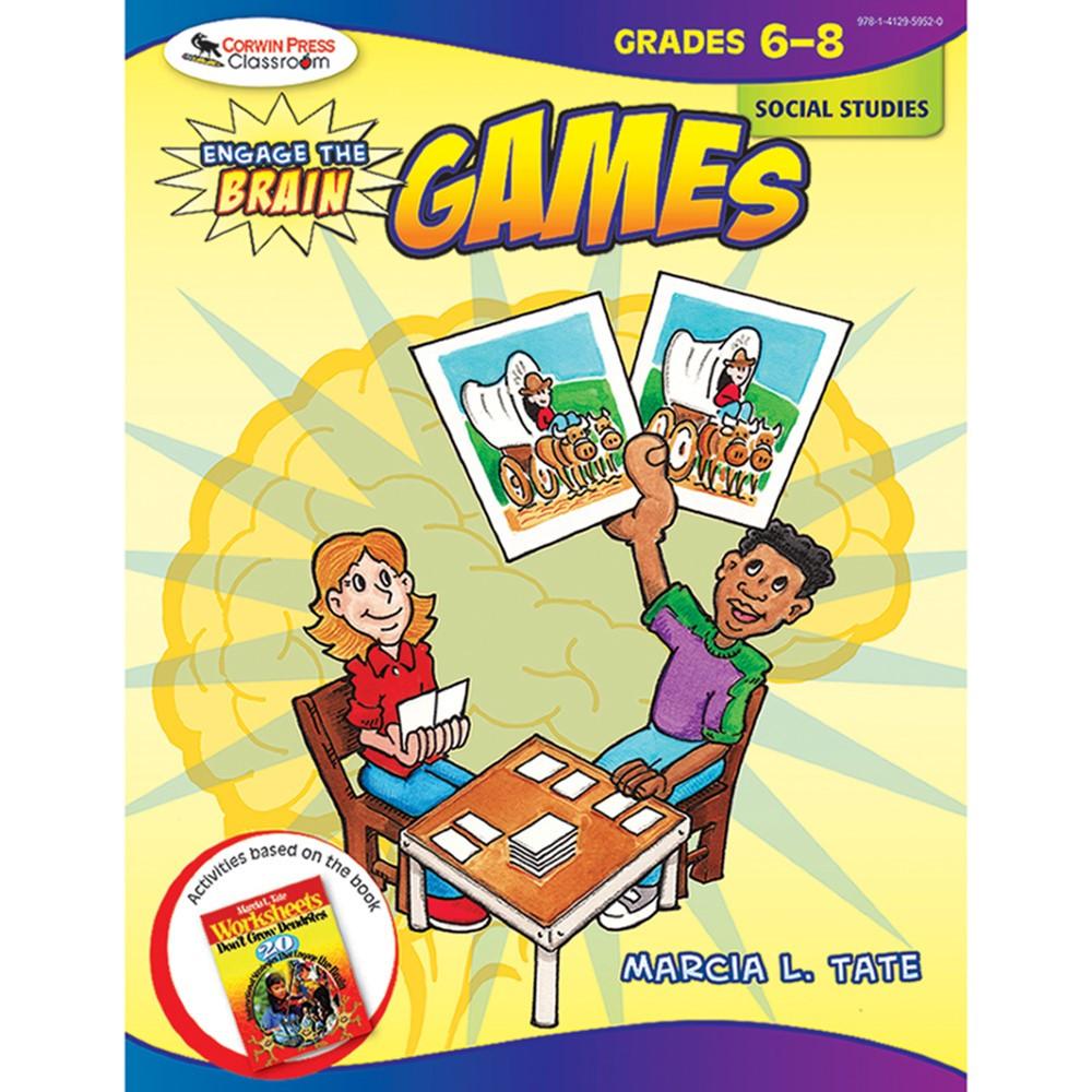 COR9781412959520 - Engage The Brain Games Social Studies Gr 6-8 in Social Studies
