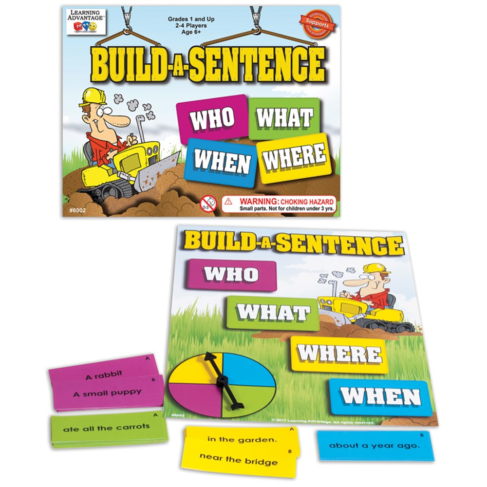 CRE6002 - Build A Sentence in Language Arts