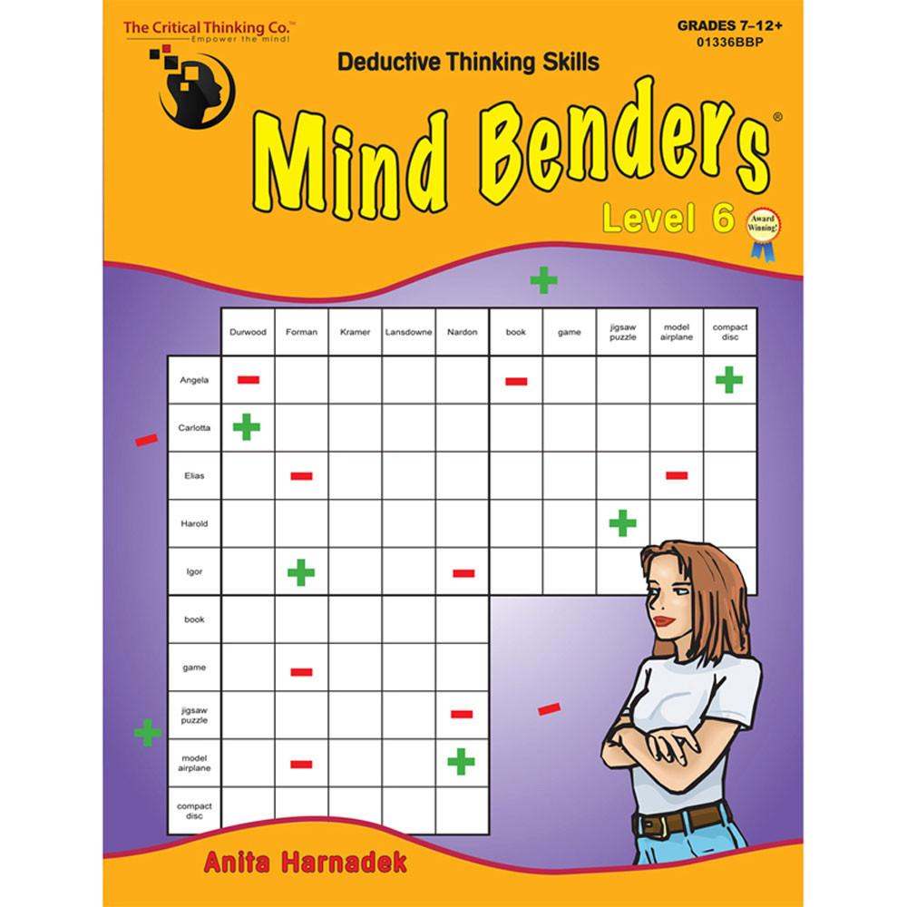 CTB01336BBP - Mind Benders Book 6 in Books