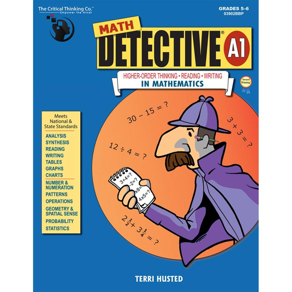 CTB3902 - Math Detective A1 Book Gr 5-6 in Books