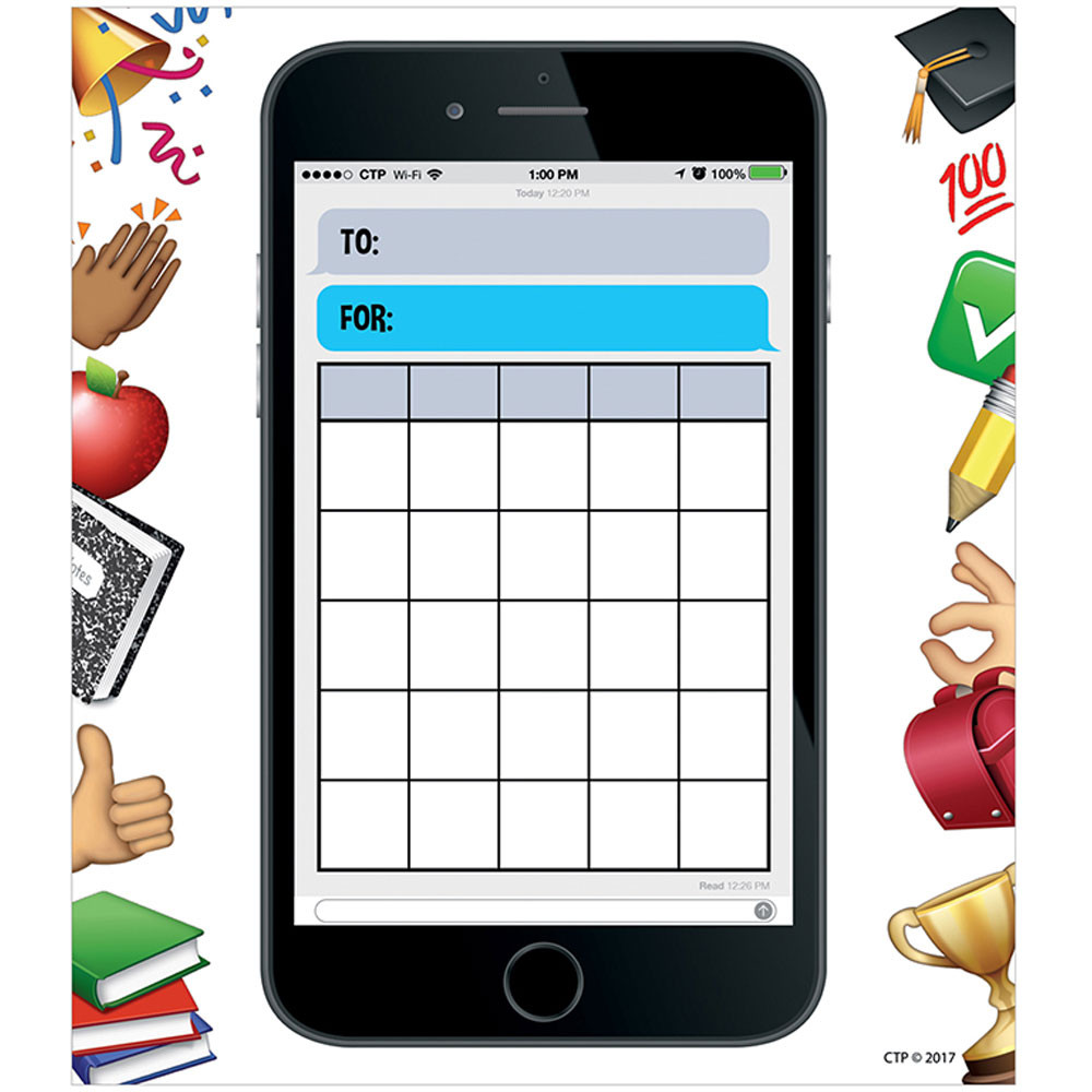 CTP0695 - Smart Phone Fun Incentive Charts in Incentive Charts
