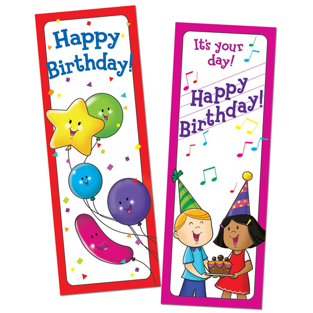 CTP0929 - Bookmarks Happy Birthday 30/Pk in Bookmarks