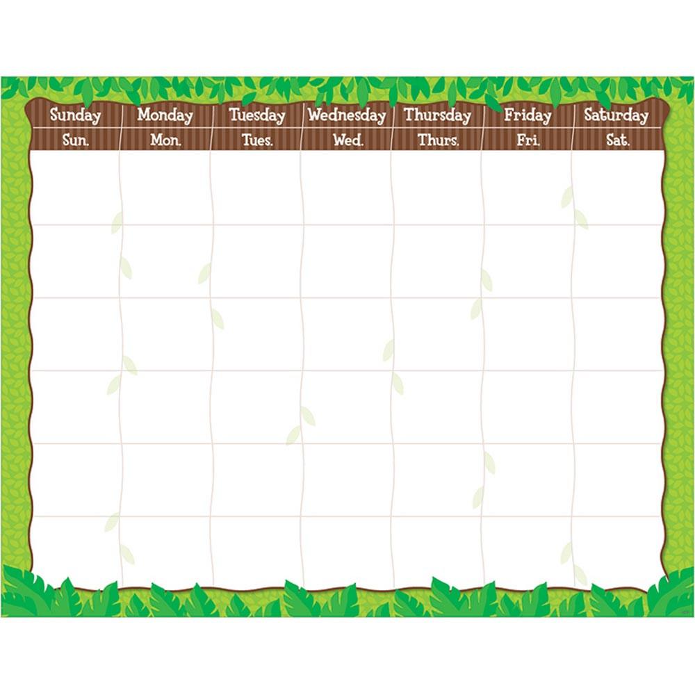 CTP0963 - Jungle Calendar Chart in Calendars