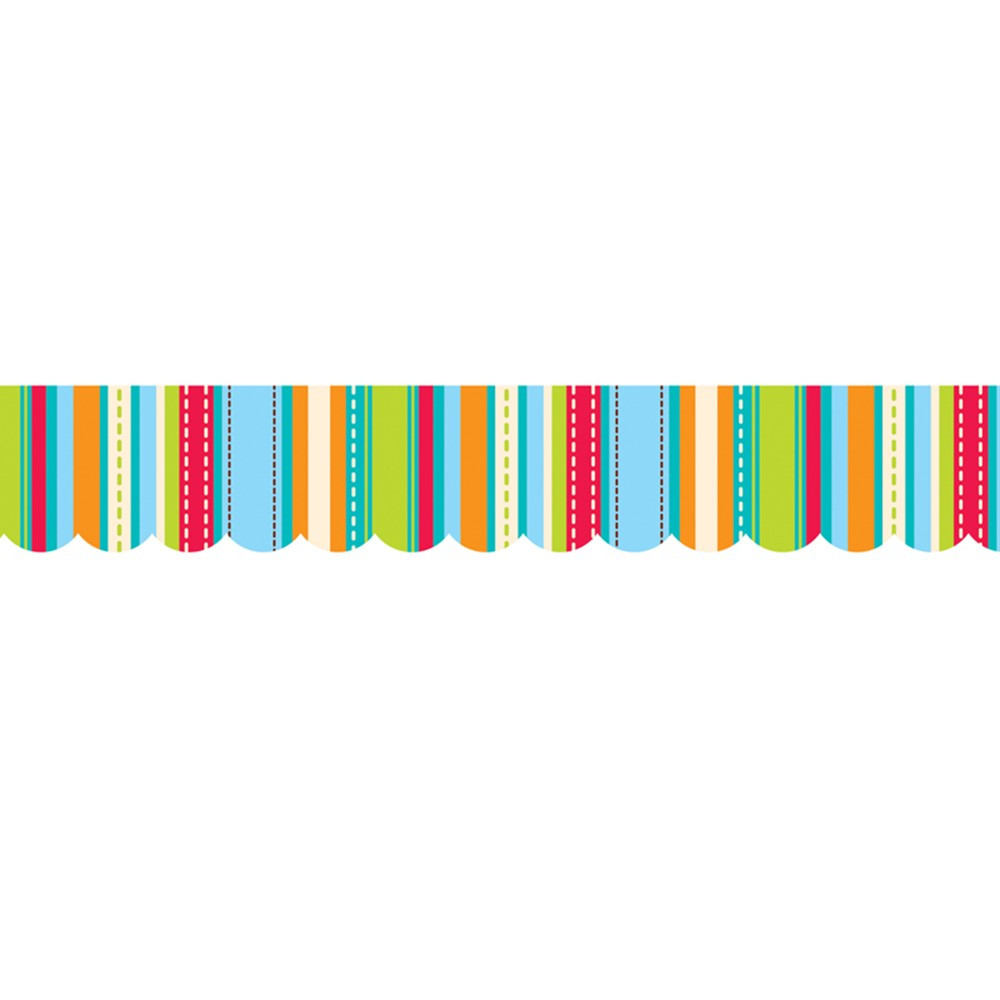 CTP1040 - Stripes & Stitches Shapes Border in Border/trimmer