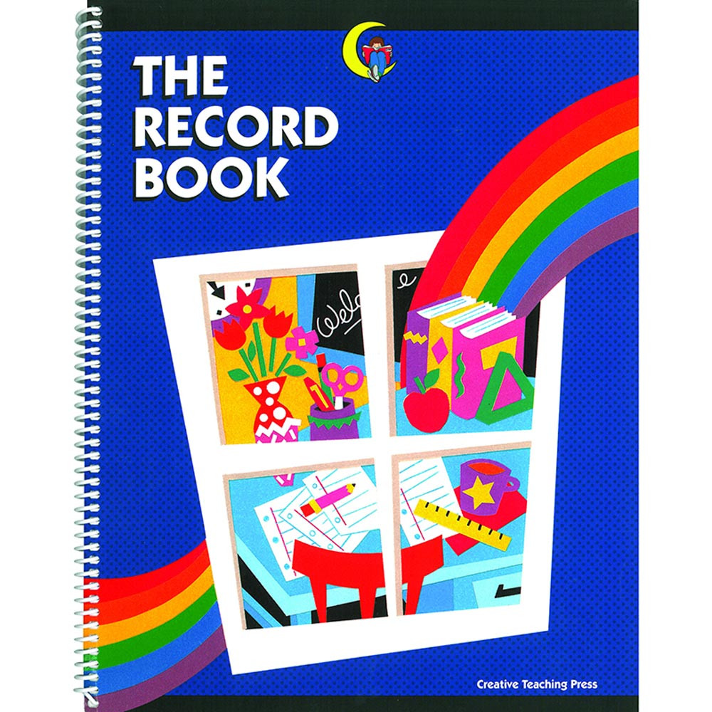 CTP1221 - Record Book The Rainbow Record 8-1/2 X 11 in Plan & Record Books