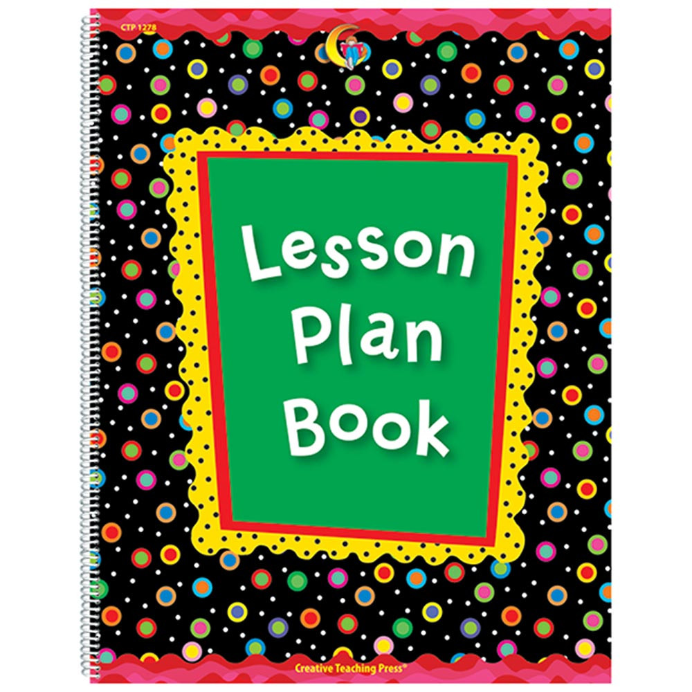 CTP1278 - Poppin Patterns Lesson Plan Book in Plan & Record Books