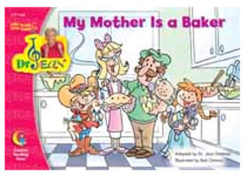 CTP1368 - My Mother Is A Baker Sing Along/ Read Along W/ Dr Jean Gr Pk-1 in Reading Skills