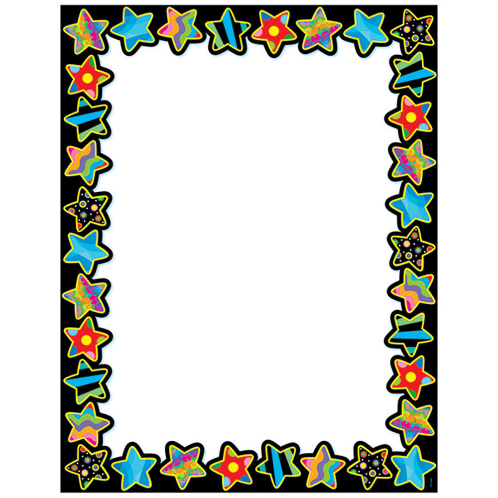 CTP1525 - Poppin Pattern Stars Blank Chart in Miscellaneous