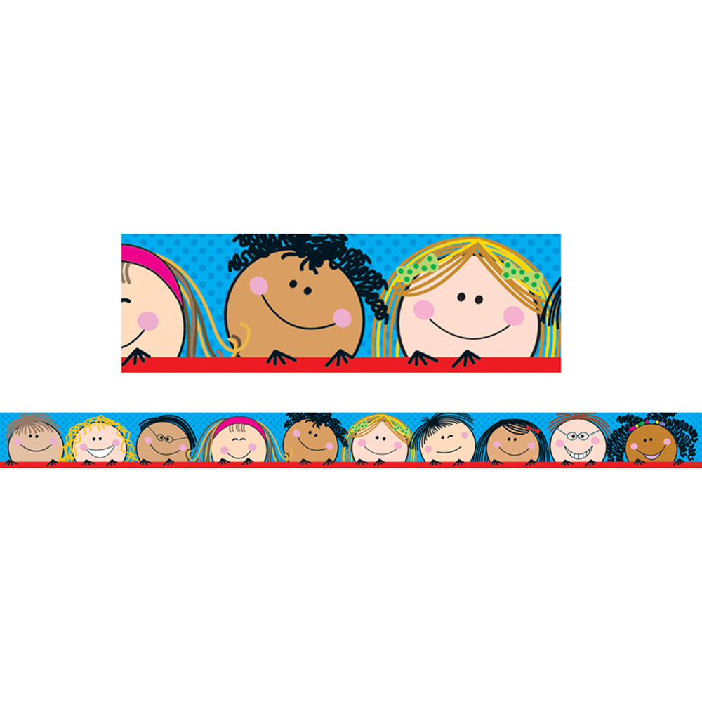 CTP1816 - Smiling Stick Kids Border in Border/trimmer