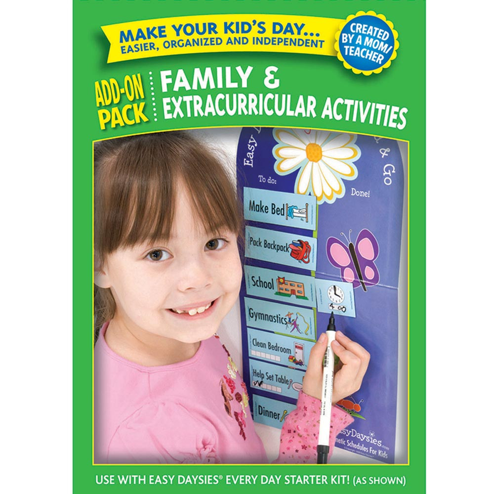 CTP1865 - Easy Daysies Family Extracurricular Add On Kit in Resources
