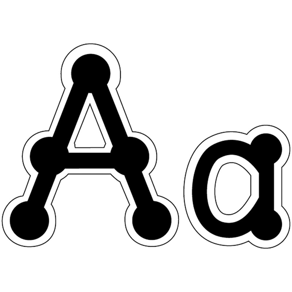 CTP1889 - Letters Dot-To-Dot Uppercase Black in Letters