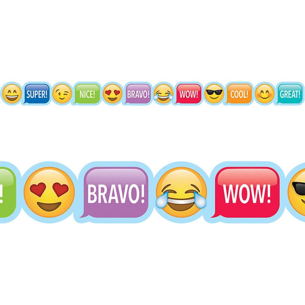 Classroom Decoration Emoji ~ Emoji rewards border ctp creative teaching press