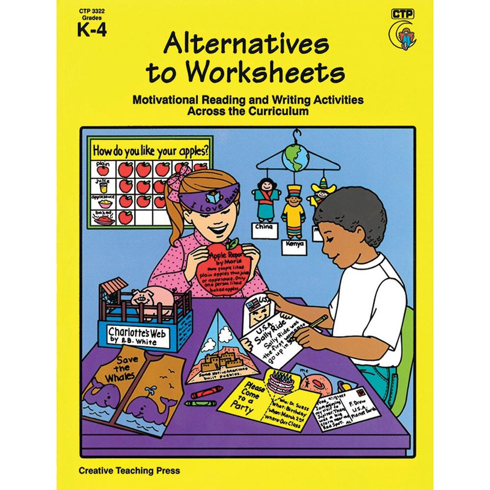 worksheet Creative Teaching Press Worksheets alternatives to worksheets ctp3322 creative teaching press