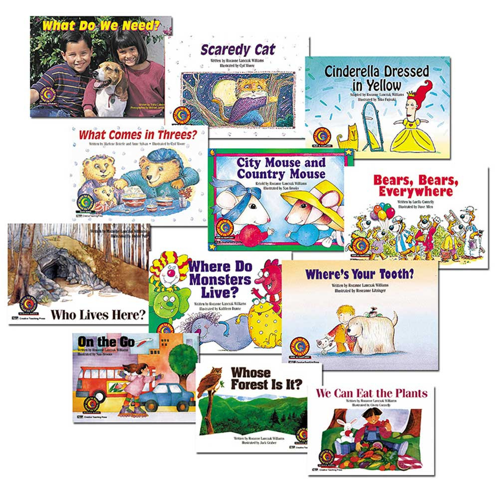 CTP3853 - Learn To Read Classroom Pk 3 Lev Cd in Class Packs