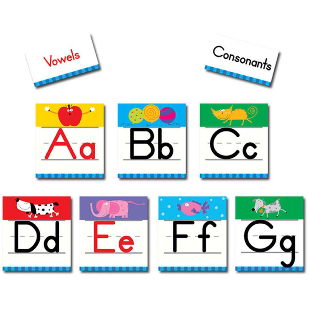 CTP4037 - Alphabet Bulletin Board Set in Letters