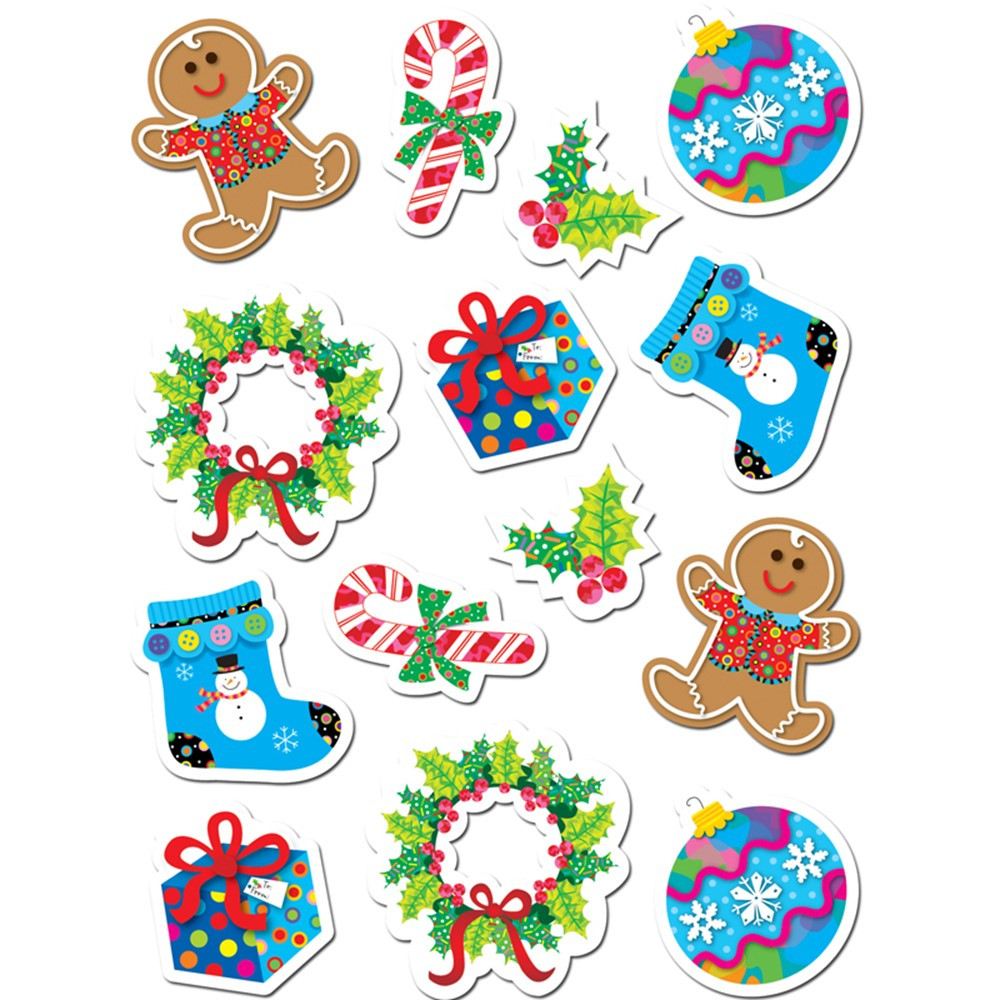 CTP4129 - Winter Holiday Stickers in Holiday/seasonal