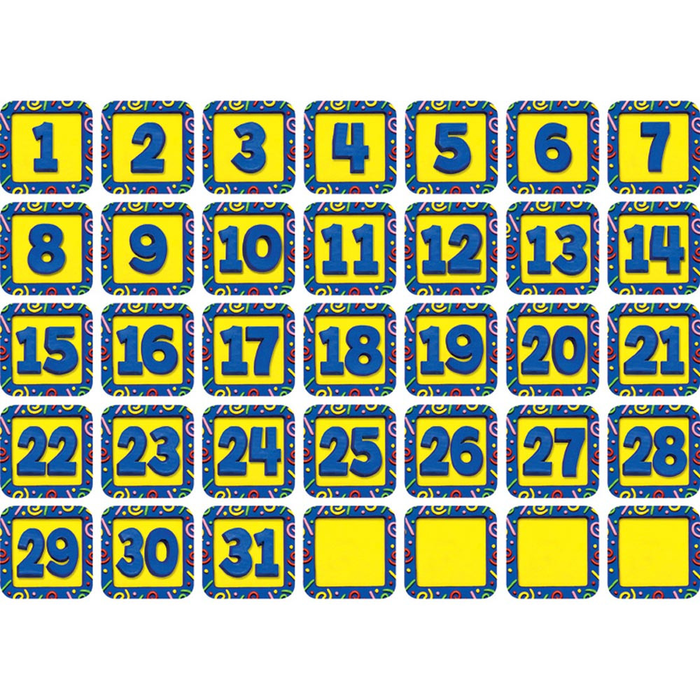CTP4348 - Confetti Calendar Days in Calendars