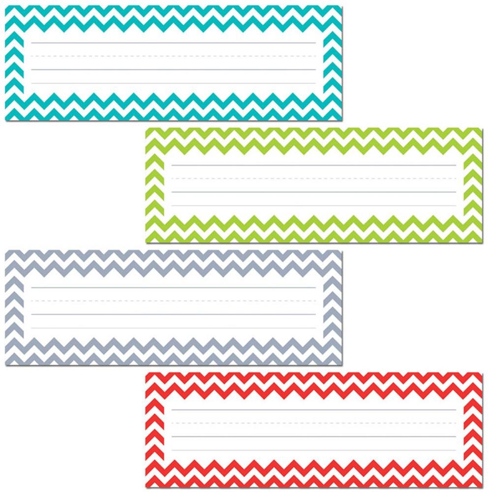 CTP4517 - Chevron Name Plates in Name Plates