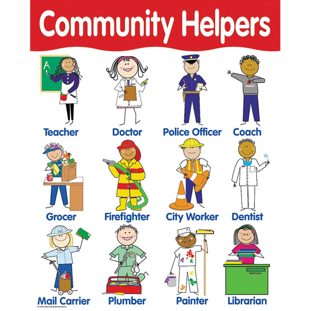 Chart Community Helpers Ctp5694 Creative Teaching