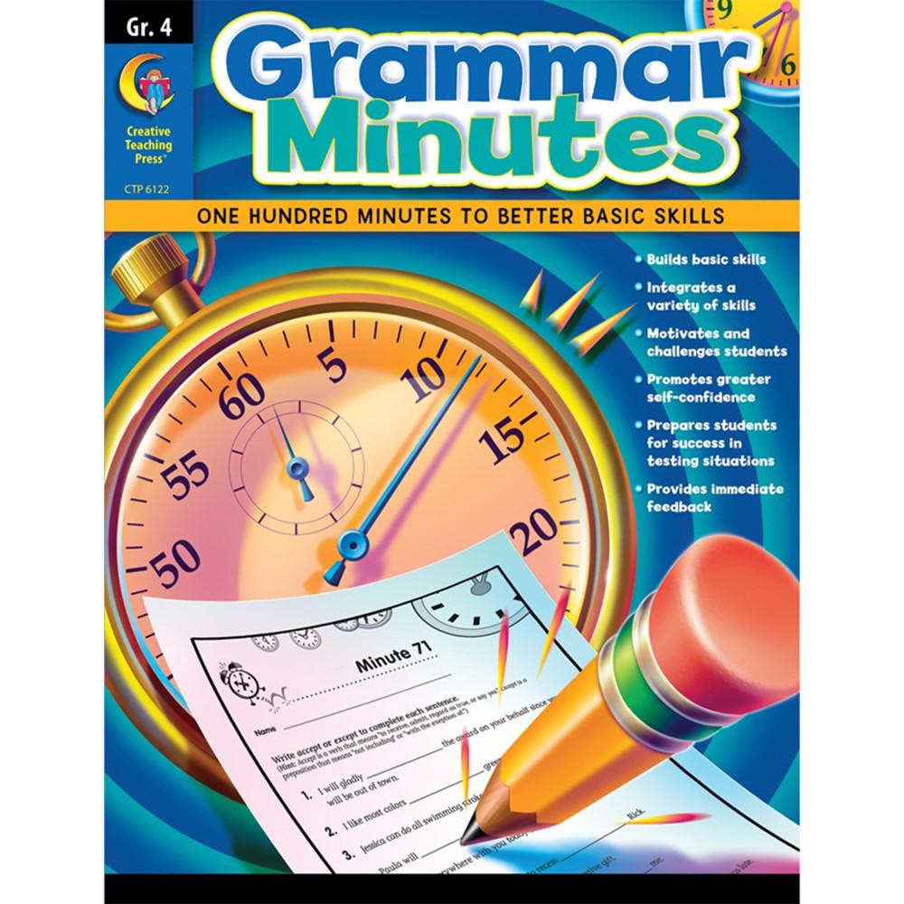 CTP6122 - Grammar Minutes Gr 4 in Grammar Skills