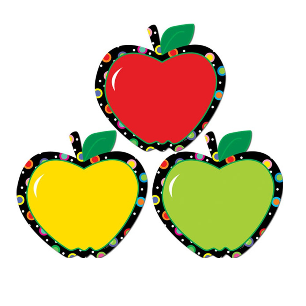 CTP6238 - Apples Pp Cut Outs in Accents