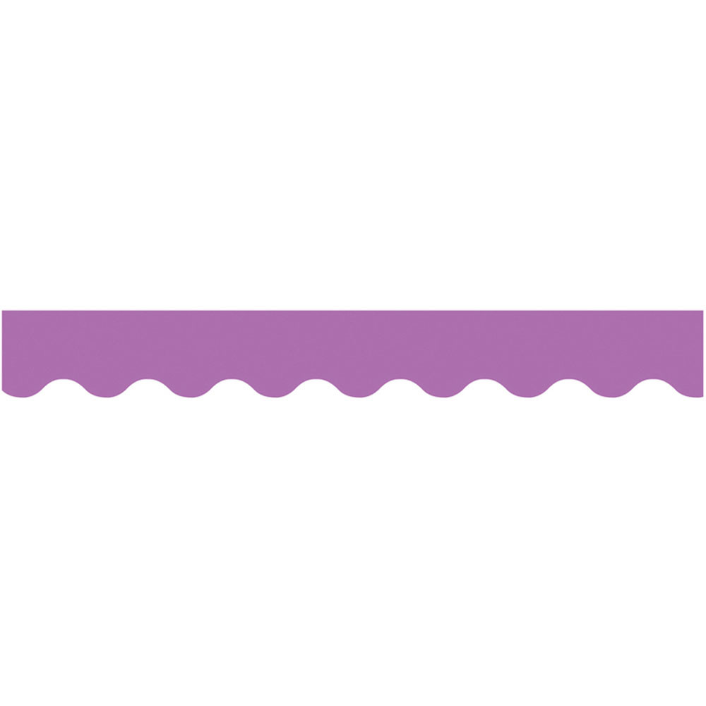 Purple Wavy Border Ctp6442 Creative Teaching Press