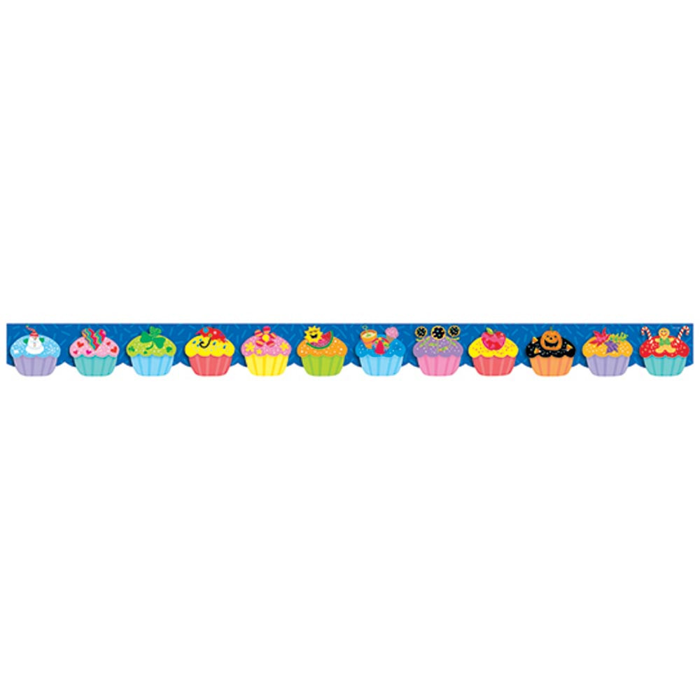 CTP6513 - Cupcakes Border in Border/trimmer