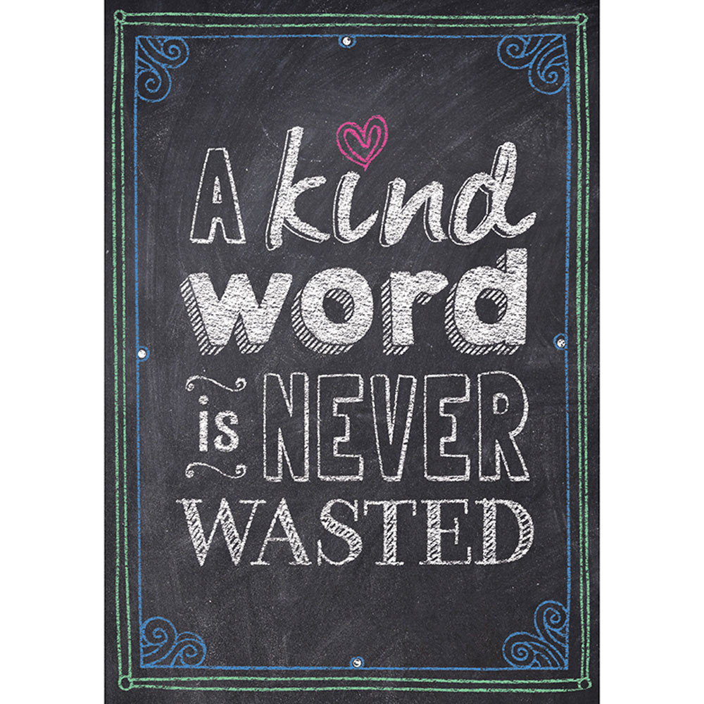 CTP6696 - A Kind Word Is Never Wasted Poster in Motivational