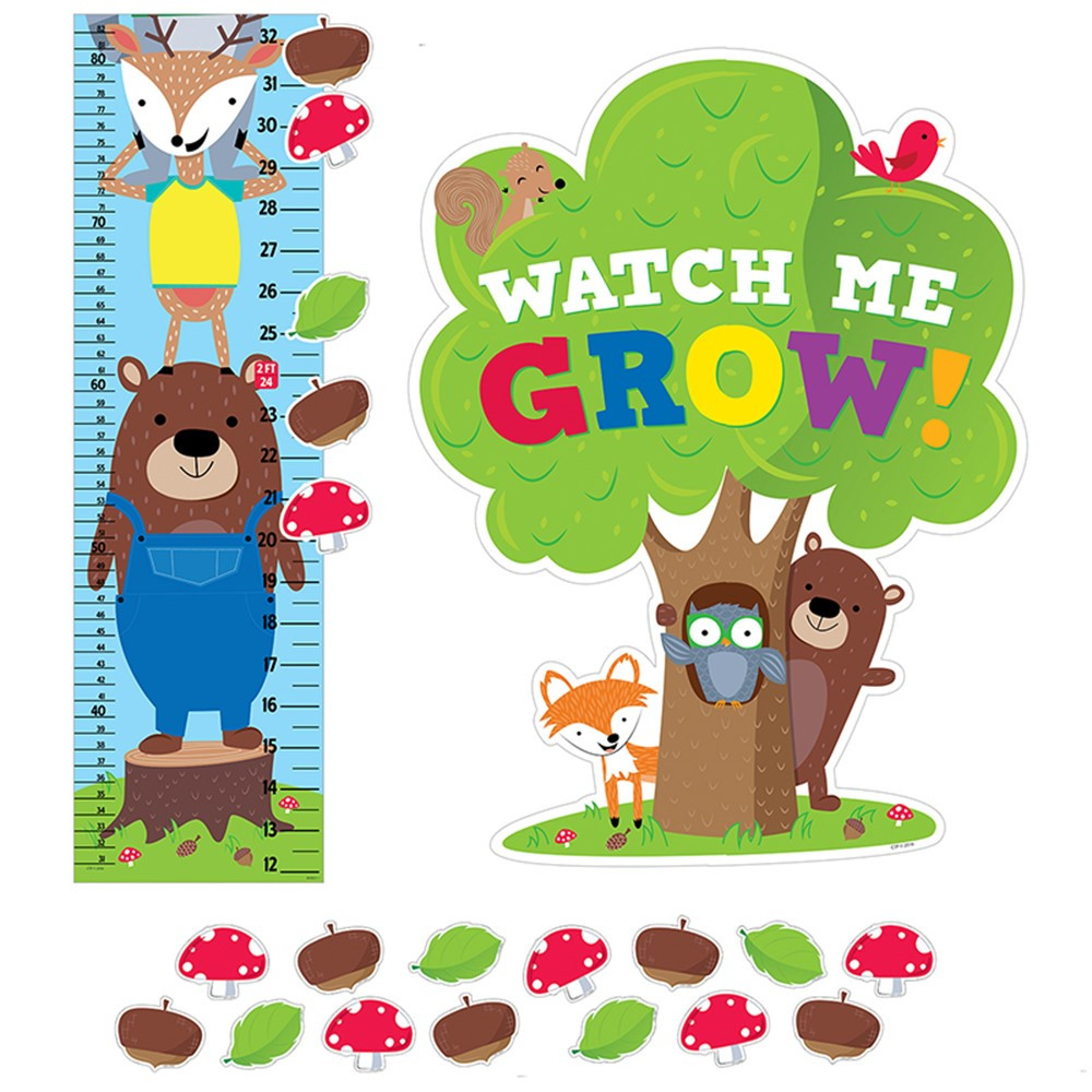Woodland Friends Growth Chart Ctp6992 Creative