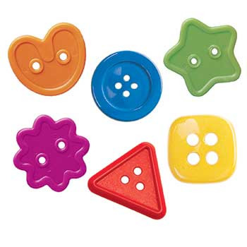 CTP7041 - Buttons 1In Designer Cut Outs in Accents
