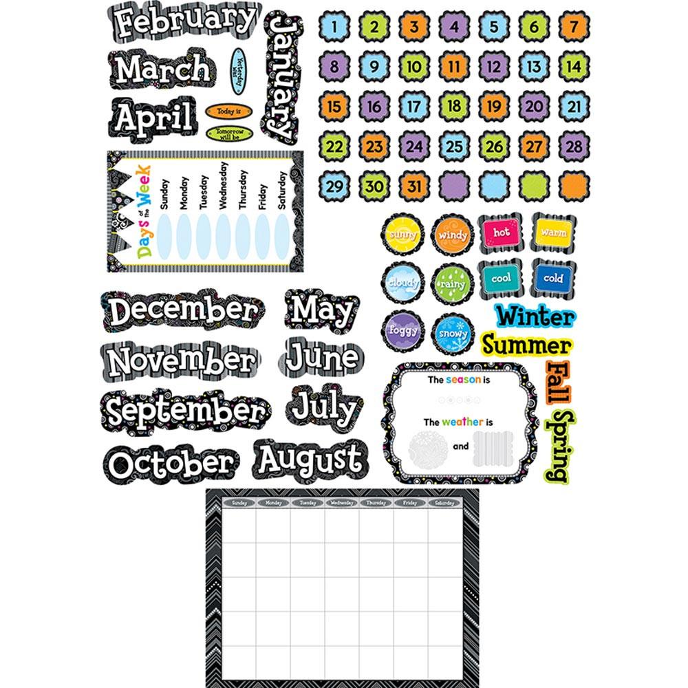 Creative Teaching Press Classroom Decorations : Bw calendar set ctp creative teaching press