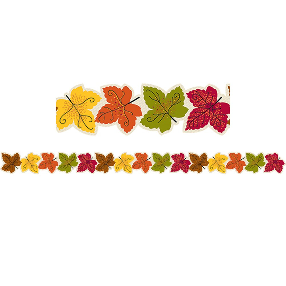 CTP7113 - Maple Leaves Border in Border/trimmer