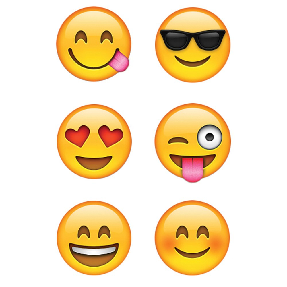CTP7137 - Emojis Hot Spot Stickers in Stickers