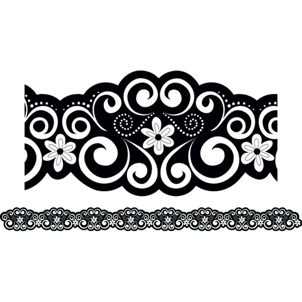 CTP7149 - Classic Curls Border in Border/trimmer