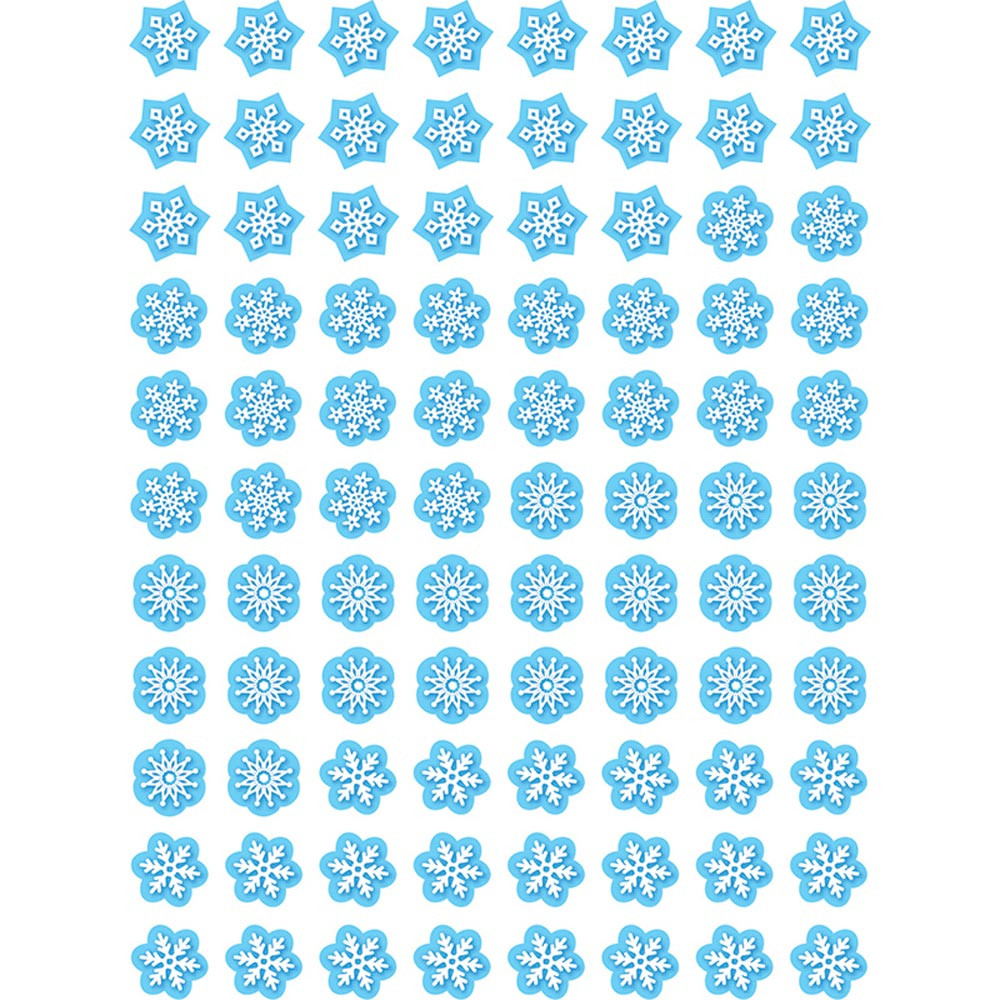 CTP7163 - Snowflakes Hot Spots Stickers in Holiday/seasonal