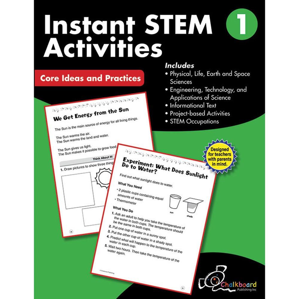 Stem Programs For Teens: Gr1 Instant Activities Workbook Stem - CTP8193