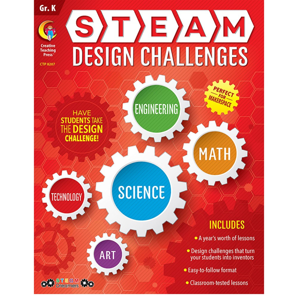 CTP8207 - Grade K Steam Design Resource Book in Skill Builders