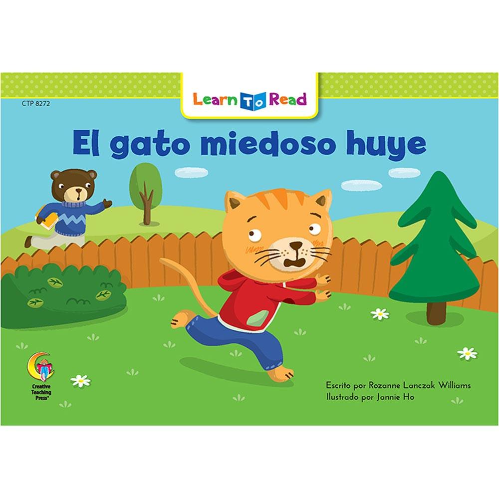 CTP8272 - El Gato Miedoso Huye - Scaredy Cat Runs Away in Books