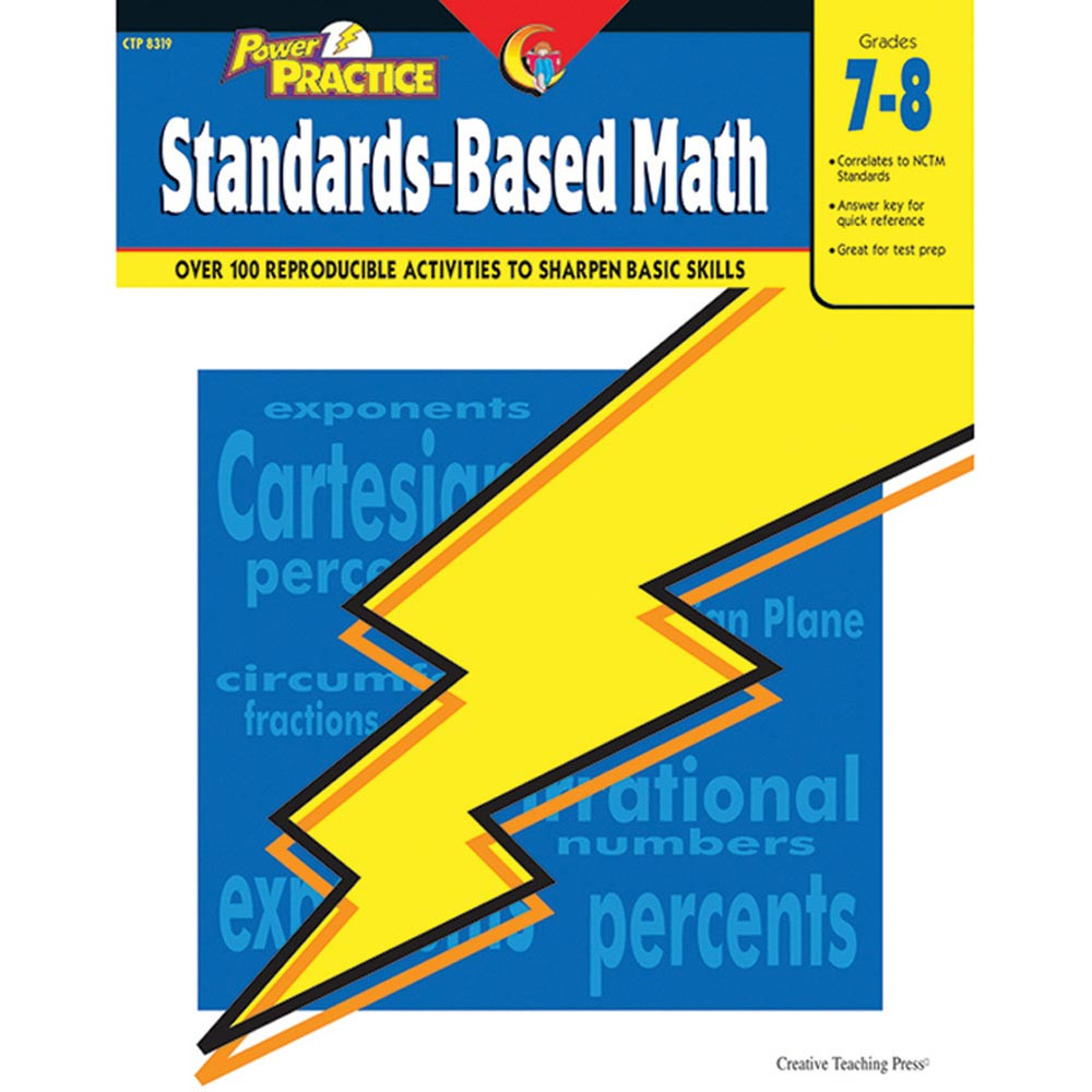 Power Practice: Standards-Based Math Grade 7-8 - CTP8319 | Creative ...