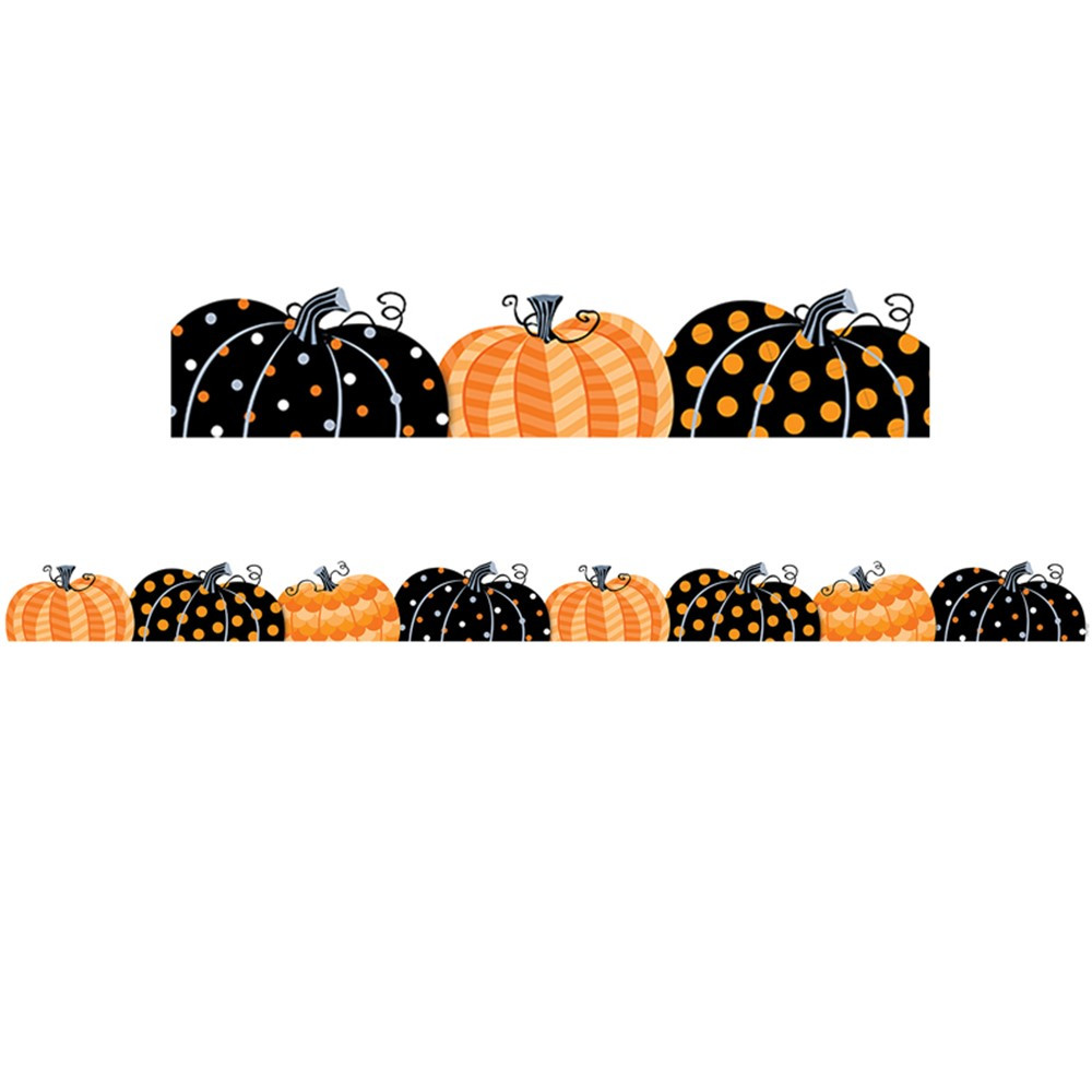 Pumpkin Patch Border - CTP8405 | Creative Teaching Press ...