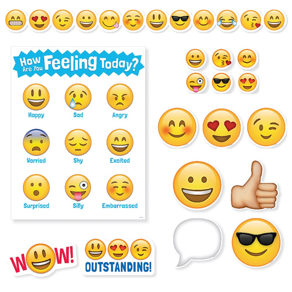 Classroom Decoration Emojis ~ Emojis pack ctp creative teaching press bulletin
