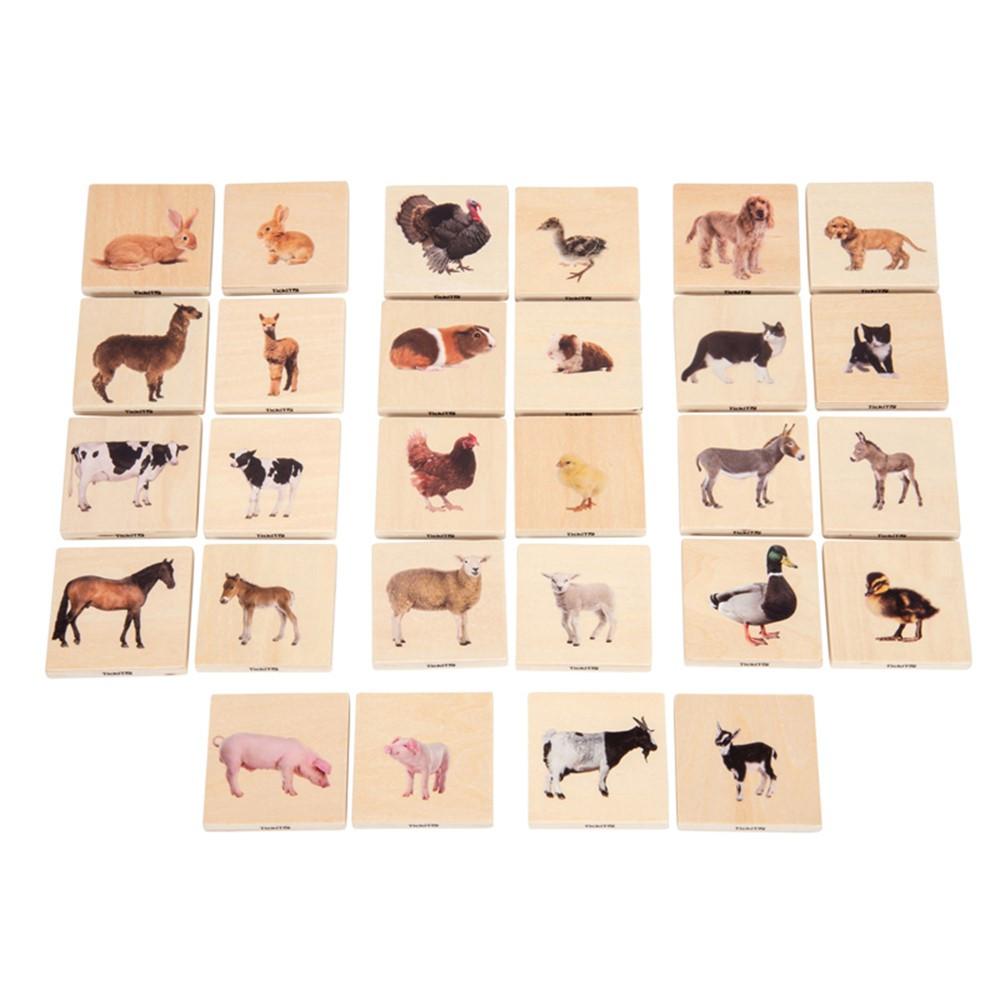 Domestic Animal Family Match - CTU73406 | Learning Advantage | Patterning
