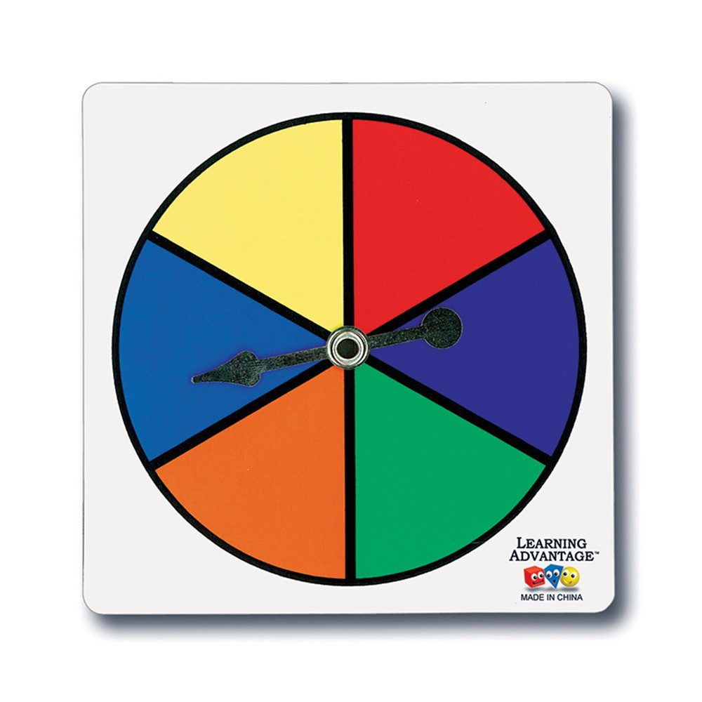 Six Color Spinners Ctu7354 Learning Advantage