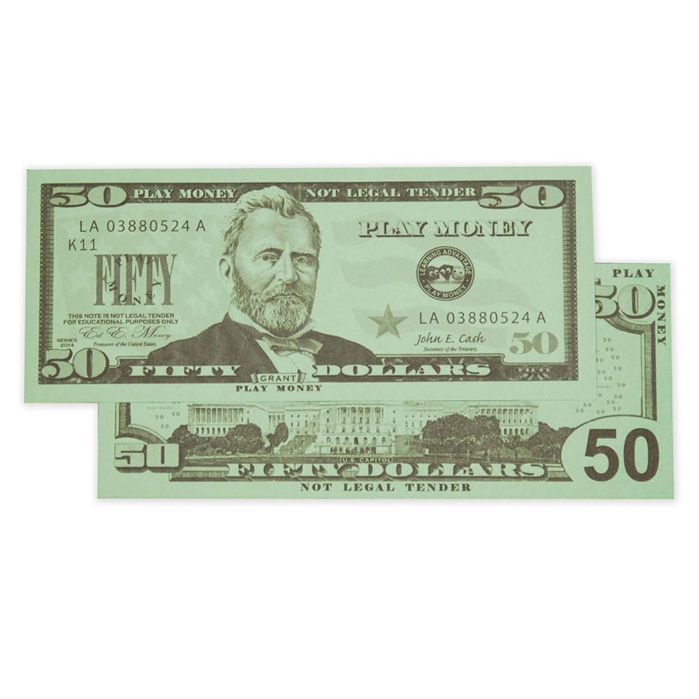 CTU7503 - $50 Bills Set Of 50 in Money