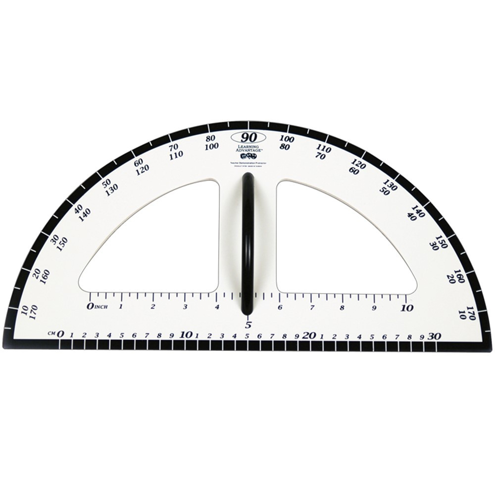 CTU7591 - Dry Erase Magnetic Protractor in Drawing Instruments