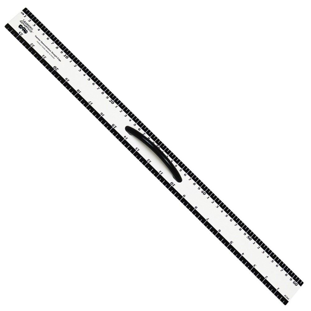 CTU7593 - Dry Erase Magnetic 24 Straight Edge in Drawing Instruments
