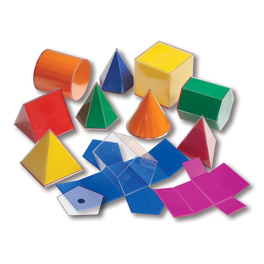 CTU7771 - Folding 3-D Geofigures 10Cm in Geometry